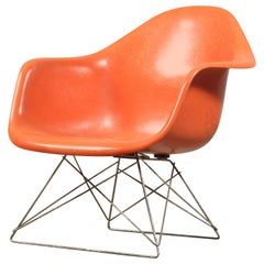 Rare Charles & Ray Eames LAR Side Chair for Herman Miller with Slide Base