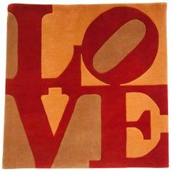 'Chosen Love' Carpet by Robert Indiana, Designed 1964