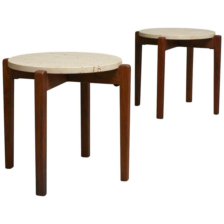 Pair of Arden Riddle Side Tables