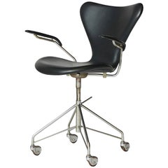 Arne Jacobsen Swivel Desk Chair Model #3217