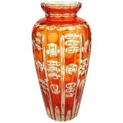 Art Deco Val Saint Lambert Viennois Aurore Vase