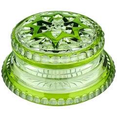 Art Deco Val Saint Lambert Glass Sweet Box