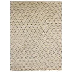 New Contemporary Moroccan Area Rug with Modern Design