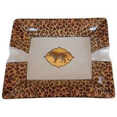 Chase Hand-Painted Leopard with 24-Karat Gold