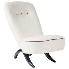 "Theo Ruth Congo Chair in ""Esgii"" Fabric"