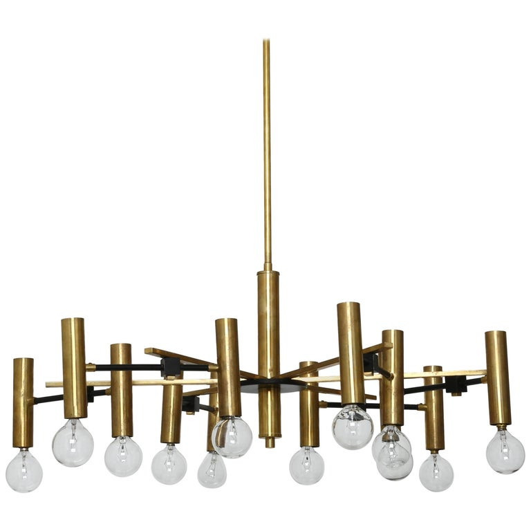 Torlasco Attributed Chandelier For Sale