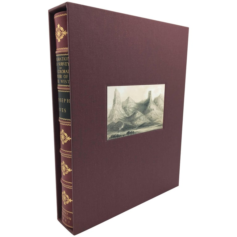 Exploration and Survey of The Colorado River by Ives, First Edition, circa 1861 For Sale