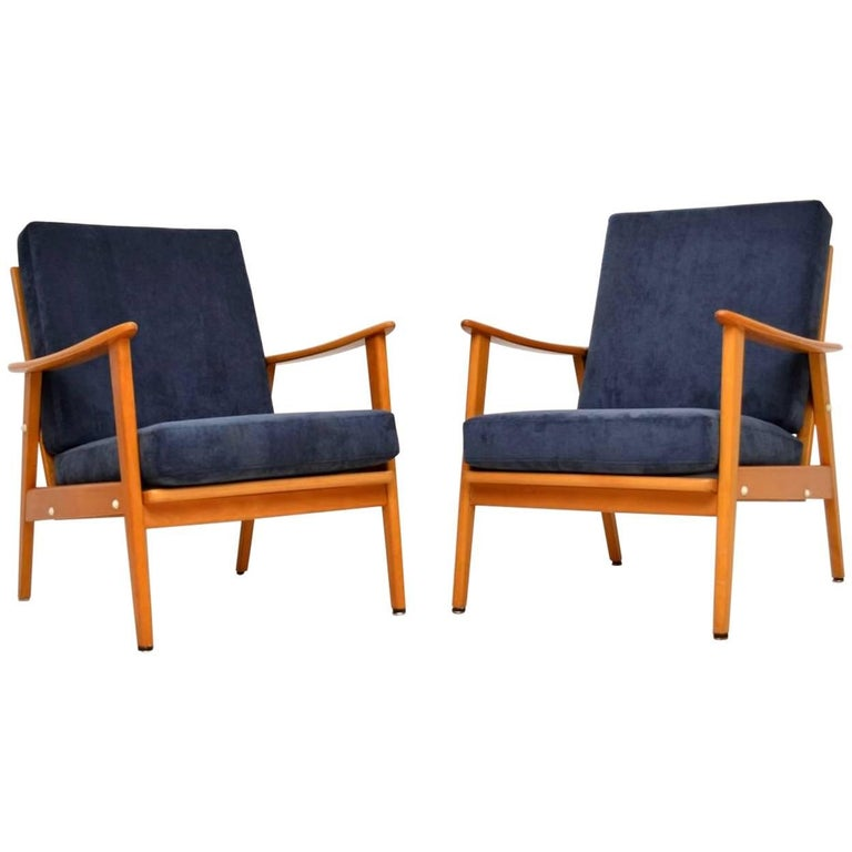 1960s Pair of Vintage Armchairs