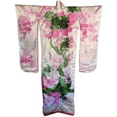 Vintage Japanese Ceremonial Kimono