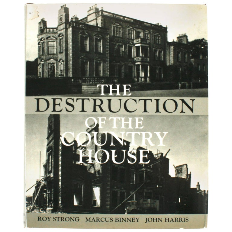 """The Destruction of the Country House"" Book, First Edition"