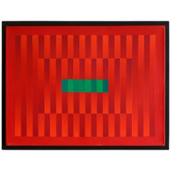 "Francis Tansey ""Linear Red"""
