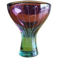 Art Glass Chalice Vase by Salviati & Co.