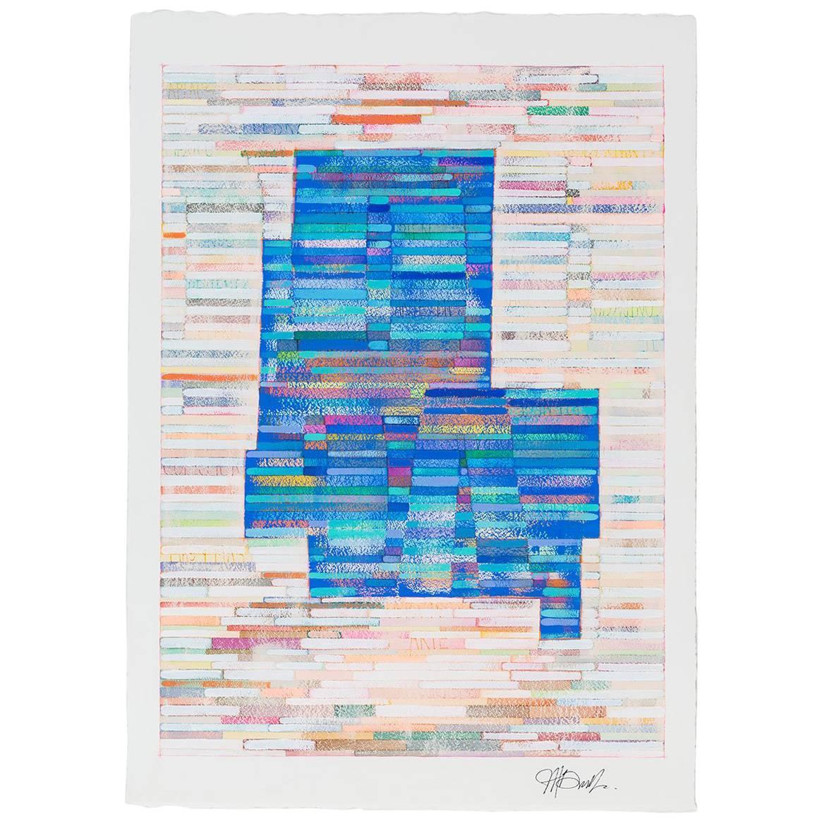 """""""Sharon 1"""", Original Contemporary Painting"""