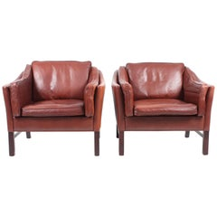 Pair of Lounge Chairs by Grant, Denmark