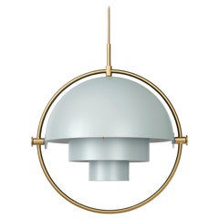 Louis Weisdorf 'Multi-Lite' Pendant Lamp in Sea Gray