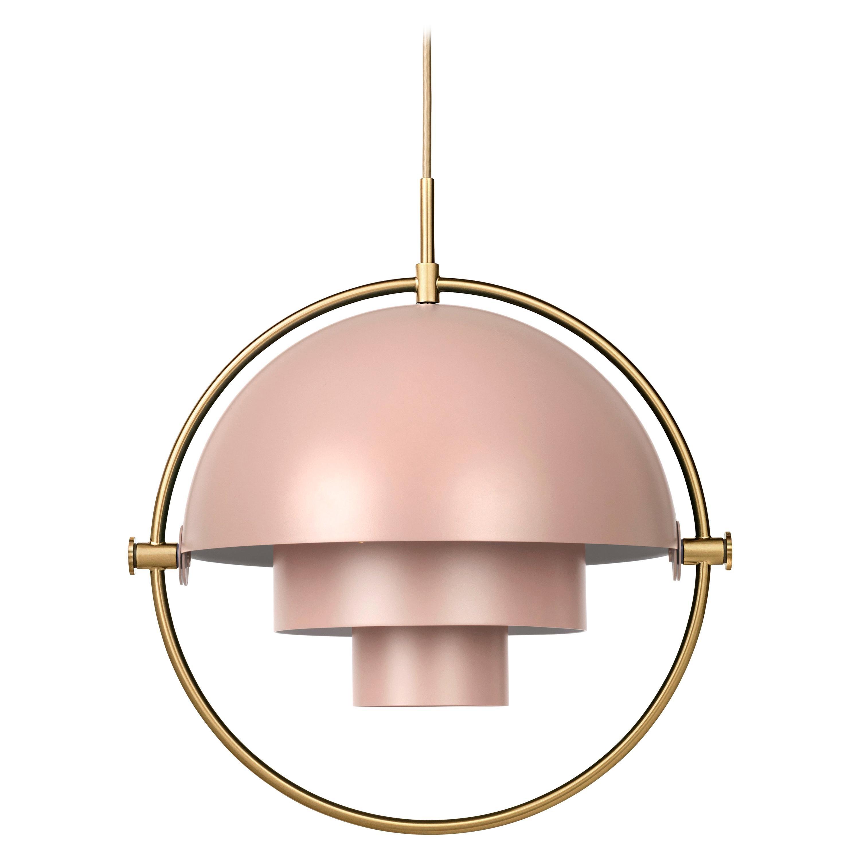 Louis Weisdorf 'Multi-Lite' Pendant Lamp in Rose
