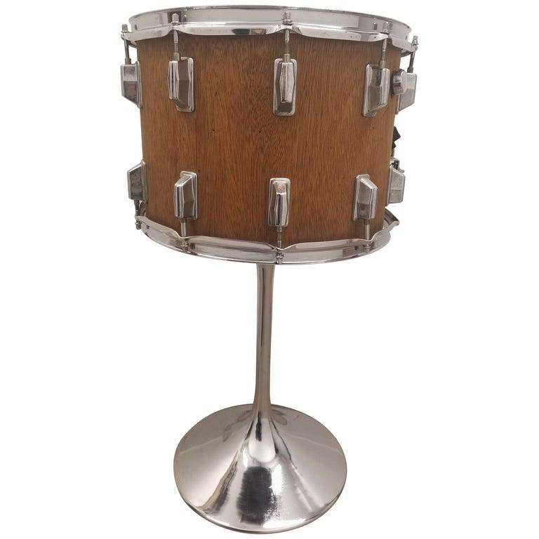 Retro Drum Table