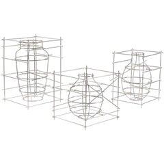 """""""Castillo"""" Aluminium Decorative Vase 'Medium' by Cooperativa Panorámica"""