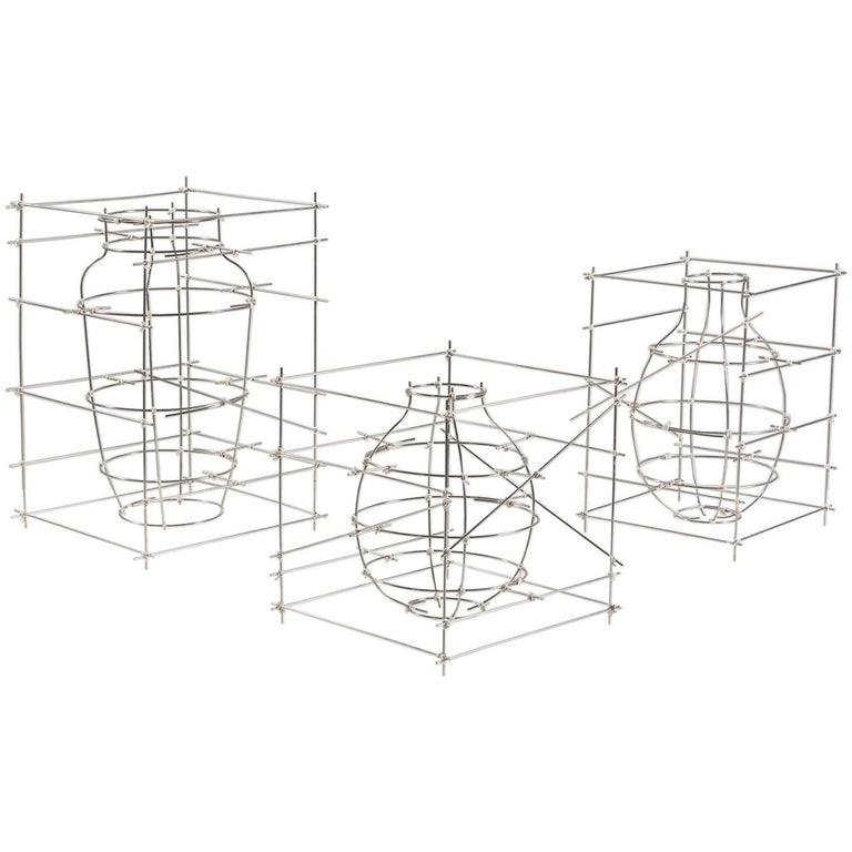 """Castillo"" Aluminium Decorative Vase 'Medium' by Cooperativa Panorámica"
