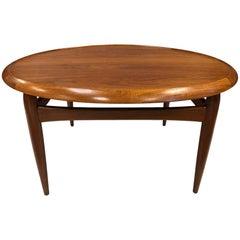 Danish Teak Reversible Top Coffee Table