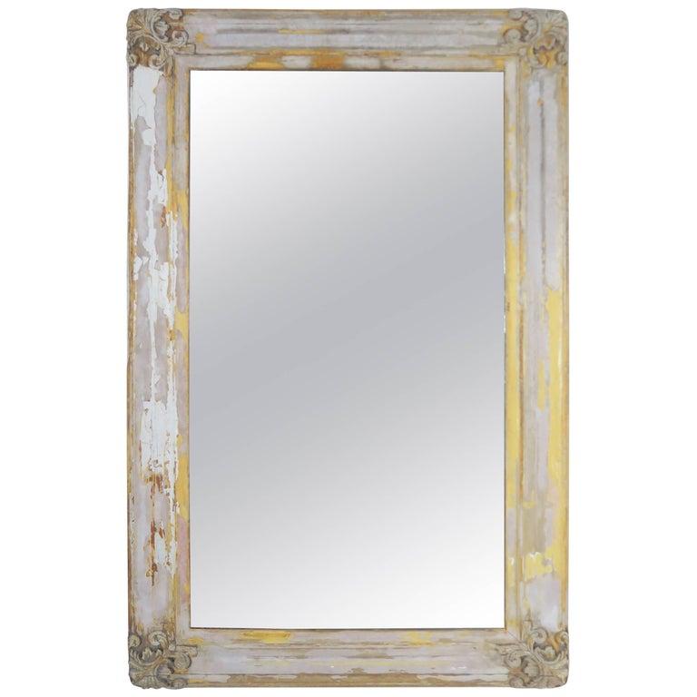 19th Century Swedish Painted Mirror