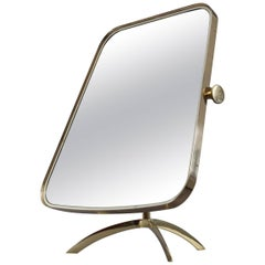 Vanity Table Mirror Münchner Werkstätten Germany, 1960