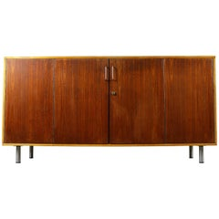Combex Series DB02 Lowboard Birch & Teak by Cees Braakman for Pastoe 1950s Brown