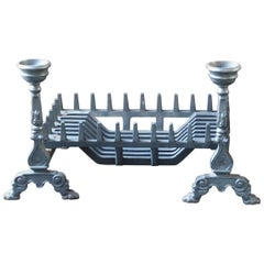 English Victorian Fireplace Grate or Fire Grate