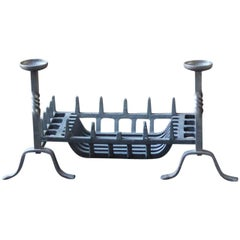 English Victorian Style Fireplace Grate or Fire Grate