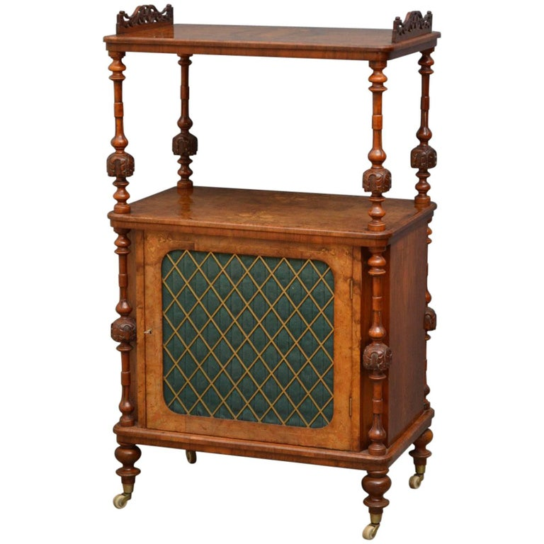 Victorian Walnut Music Stand, Etagère
