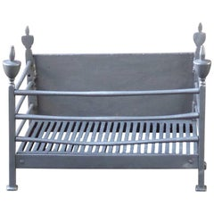 18th-19th Century English Georgian Fireplace Grate or Fire Grate