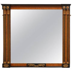 Exceptional Turn of the Century Wall Mirror