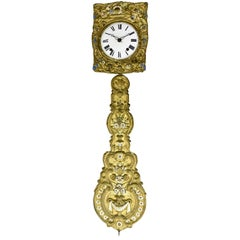 French Wag on the Wall Clock