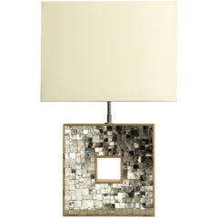 French Art Deco Inspired Pyrite Lamps designed by Jallu model Soriano