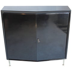 Modern Lacquered Continental Cabinet
