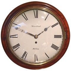 Convex Fusee Dial Clock