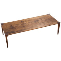 Brazilian Contemporary Coffee Table, Solid Wood
