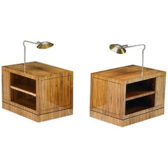 Cedric Hartman Karl Springer Side Tables