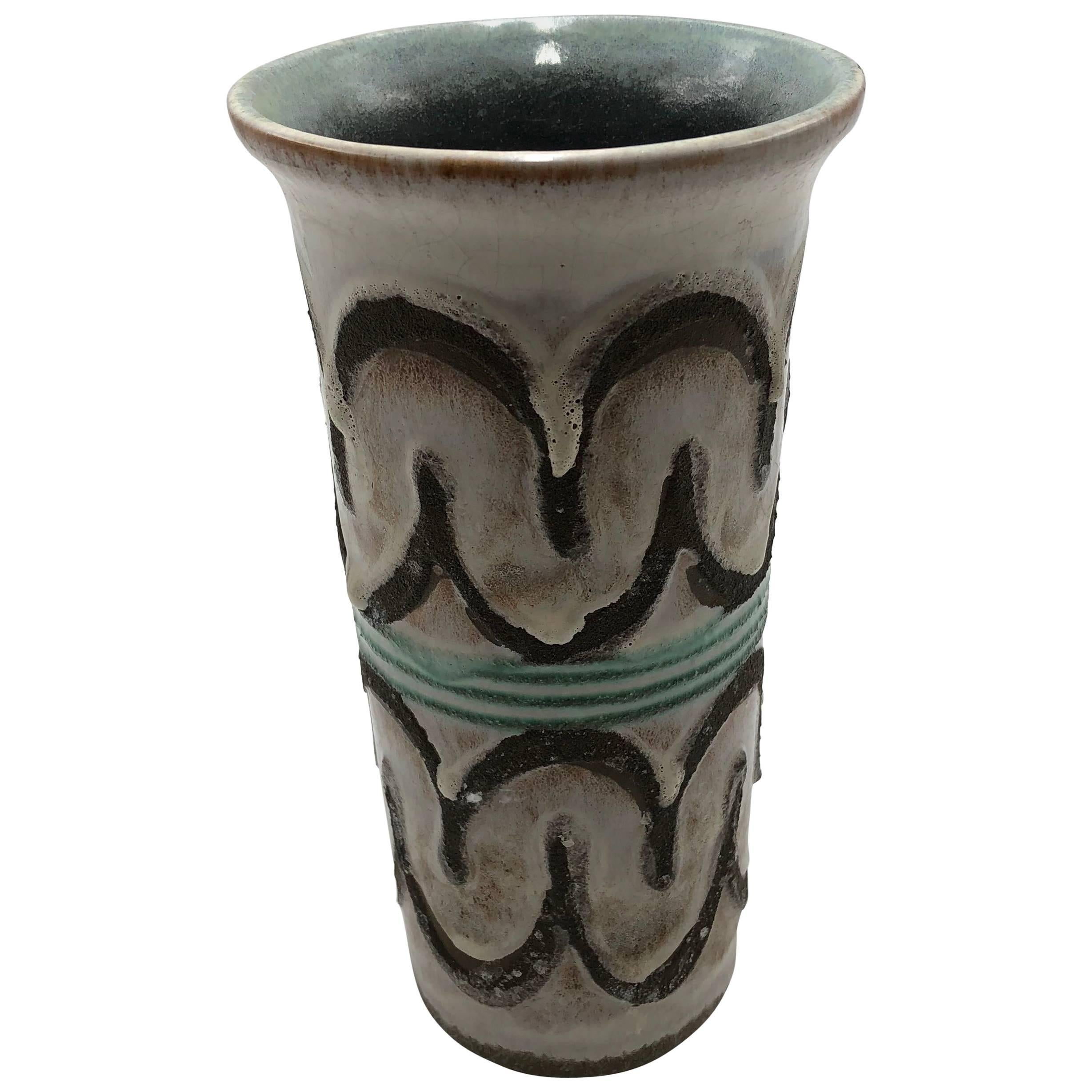 1960s Strehla West Germany Vase