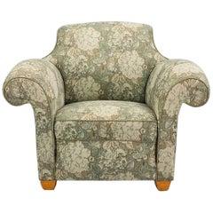 Large Baroque Style Armchair, Art Deco Period, circa 1940-1950