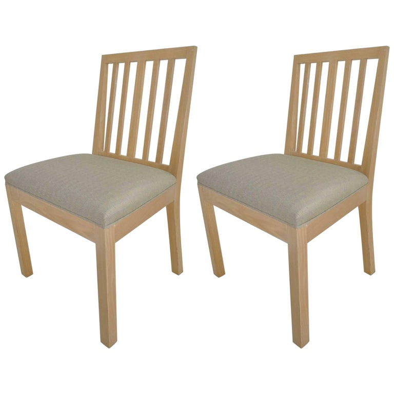 Pair of Rose Tarlow for Melrose House Dining Chairs