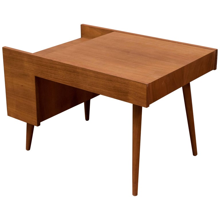 Milo Baughman End Table for Glenn of California For Sale