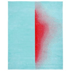 "Contemporary Rug in Wool ""Ascend"" by Joe Doucet"