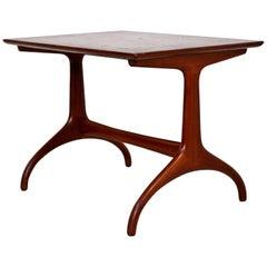 Mid-Century Modern Heritage Henredon Horn Leg Side End Table, 1950s