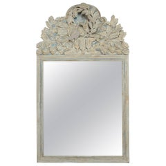 French Carved Wood Mirror, circa 1930s