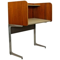 Mid-Century Modern Rare Herman Miller Upright Privacy Desk, 1960s