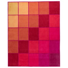 "Contemporary Rug in High Density Acrylic ""Evolve"" by Joe Doucet"