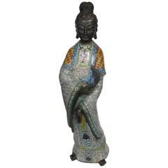 Chinese Cloisonné Figure