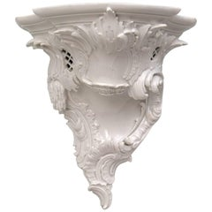 Large Berlin Porcelain Bracket