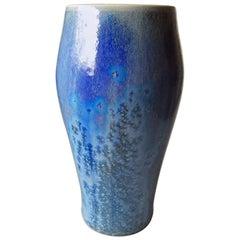 Royal Copenhagen Crystalline Vase with Double Signature Heilmann & Engelhardt